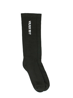Rick Owens-Socks black cotton socks