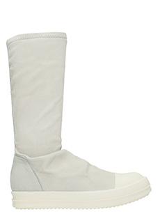 Rick Owens-Sneakers Sock in pelle dinge