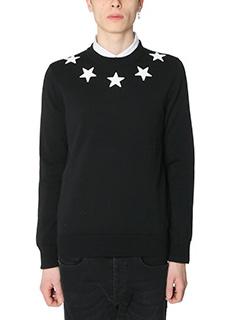 Givenchy-Maglia in cotone nero