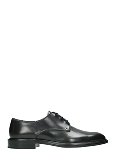Givenchy-Stringate Derby in pelle nera