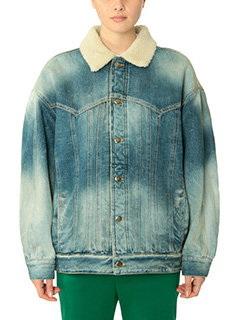 Golden Goose Deluxe Brand-Giacca Kinney Jacket in denim blue