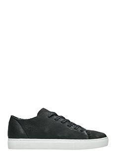 Crime-Sneakers basse in pelle nera