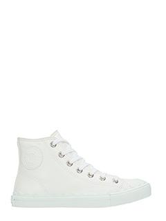 Chloé-Sneakers Kyle in pelle bianca