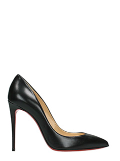Christian Louboutin-Decollet� Pigalle Follies in pelle nera