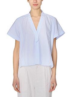 Isabel Marant-Lashay cyan cotton shirt