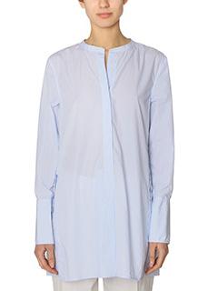 Isabel Marant-Louis cyan cotton shirt