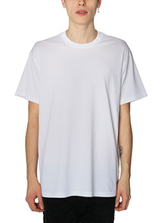 Givenchy-T-Shirt Overr  Givenchy in cotone bianca