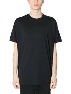 Givenchy-T-Shirt Basic Over in cotone nero