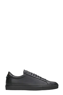 Givenchy-Sneakers Low Urban Street in pelle nera