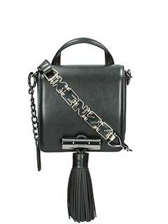 Kenzo-black leather bag