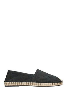 Valentino-Espadrillas in canvas nero