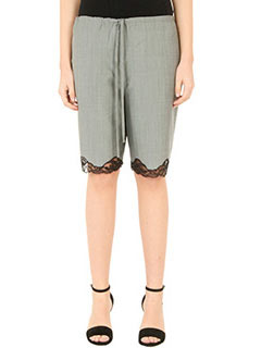 Alexander Wang-grey wool shorts