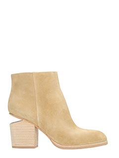 Alexander Wang-Gabi taupe suede ankle boots