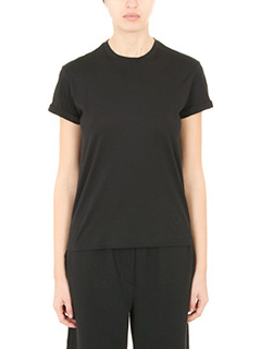 T by Alexander Wang-T-Shirt Superfine  in jersey nero