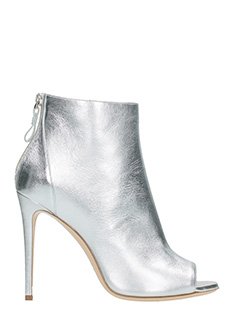 Dei Mille-silver leather ankle boots