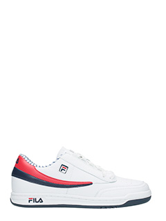 Fila-Sneakers  Original Tennis  in pelle bianca rossa blue