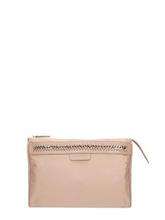 Stella McCartney-Borsa Wash Bag in nylon cipria