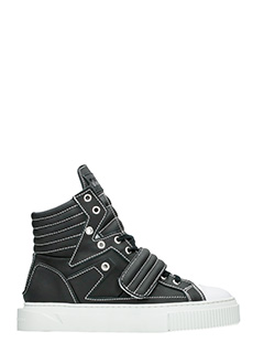 Gienchi-Hypnos black rubber/plasic sneakers