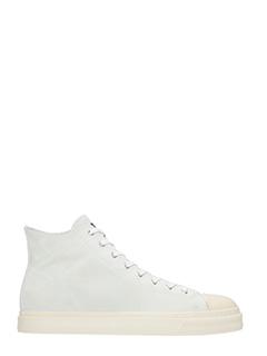 Gienchi-Sneakers Jean Michel in camoscio ghiaccio