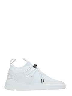 Filling Pieces-Sneakers Astro Runner in tessuto tecnico bianco