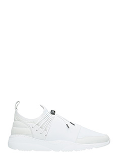 Filling Pieces-Sneakers Runner 3.0 in tessuto tecnico bianco