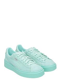 sneakers puma verde