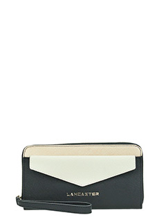 Lancaster-Adeline black leather wallet