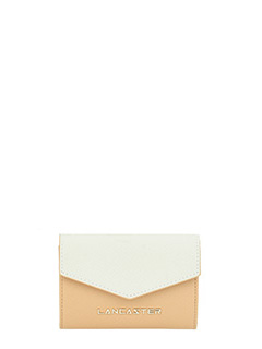Lancaster-Adeline leather color leather wallet