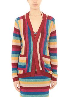 Laneus-Cardigan in lurex multicolor