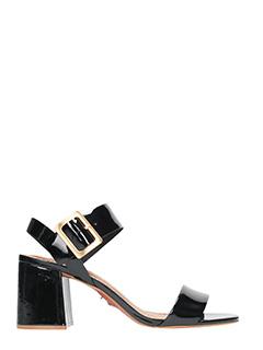 Carrano-Sandali in vernice nera