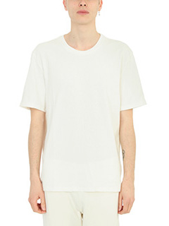 Maison Margiela-T-Shirt  Replica in cotone bianco