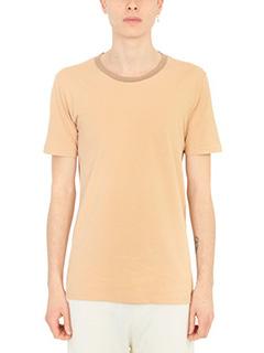 Maison Margiela-Set 3 T-Shirt in cotone beige