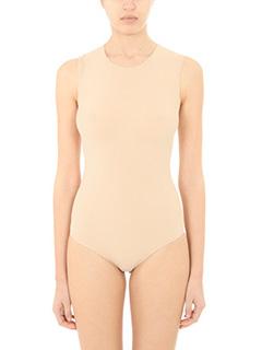 Maison Margiela-Body in lycra nude