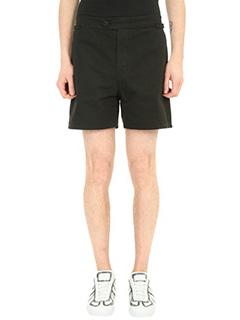 Maison Margiela-Shorts in cotone nero