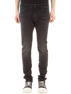 Ring-Jeans Dalston in denim nero