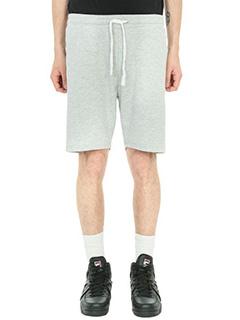 Fila-Shorts logo in cotone grigio
