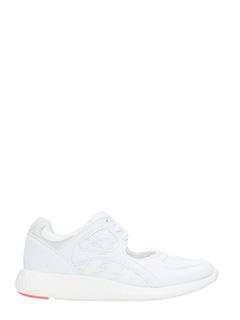 Adidas-Equipmetn racin white Tech/synthetic sneakers