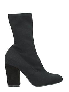 Elena Iachi-black Tech/synthetic ankle boots