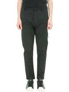 Low Brand-Pantalone T 4.12 in tessuto tecnico nero