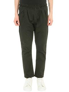 Low Brand-Pantalone T 4.20 in cotone nero