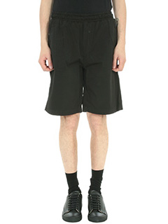 Low Brand-Shorts T4.23 in cotone nero