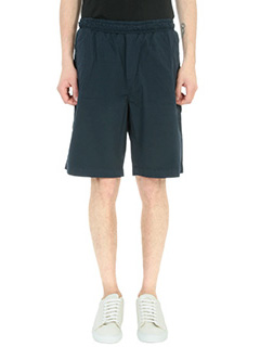 Low Brand-Shorts T4.23 in cotone blu