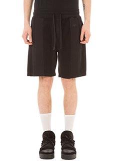 Adidas per Alexander Wang-Inout  black cotton shorts