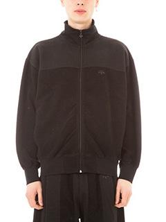 Adidas per Alexander Wang-Felpa Inout  Zip cotone nero
