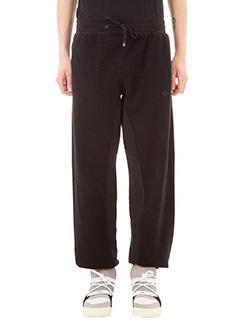 Adidas per Alexander Wang-Pantaloni Inout Jogger in cotone nero