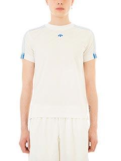 Adidas per Alexander Wang-T-Shirt FBall in jersey beige
