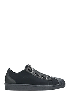 Y-3-Sneakers Super Zip in tessuto tecnico nero
