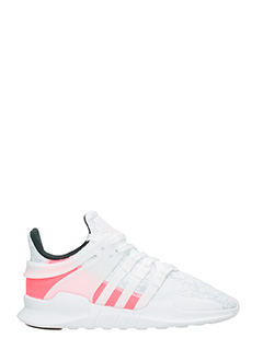Adidas-Eqt support adv white Tech/synthetic sneakers