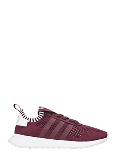 Adidas-Sneakers Flb W Pk in tessuto bordeaux
