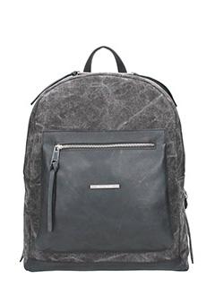 Marcel Martillo-Collin black canvas backpack